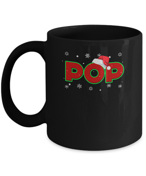 Pop Christmas Santa Ugly Sweater Gift Mug