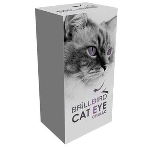 Cat eye effect gel&lac - Violet