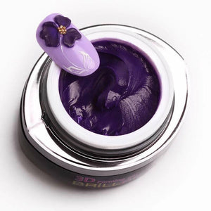 3D forming gel - Dark purple