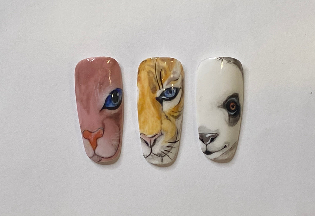 Animal Gel Art