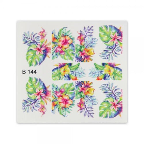 3D effect sticker - B144