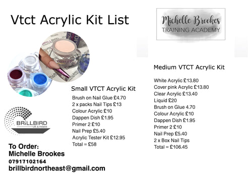 Nail Technology Acrylic Kit