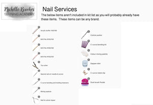 Michelle Brookes Nail Services Kit