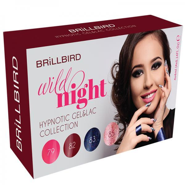 Wild night hypnotic gel&lac kit