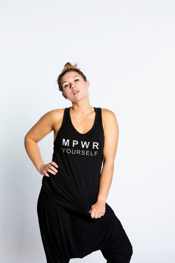 Bamboo Tank Black – MPWR Yourself
