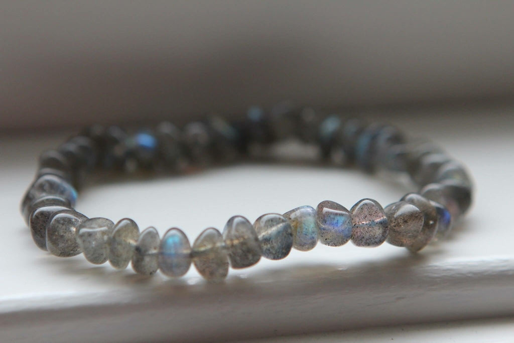 TRANSFORMATION Bracelet in premium Blue Labradorite