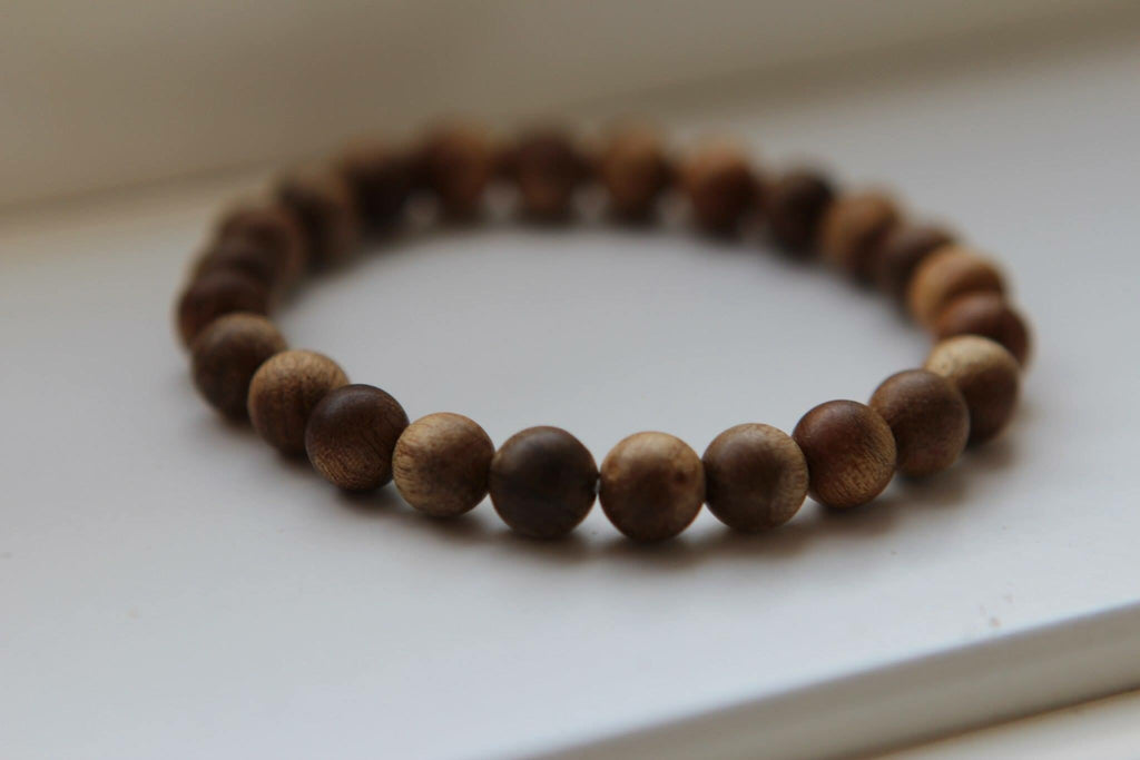Bracelet in light wood