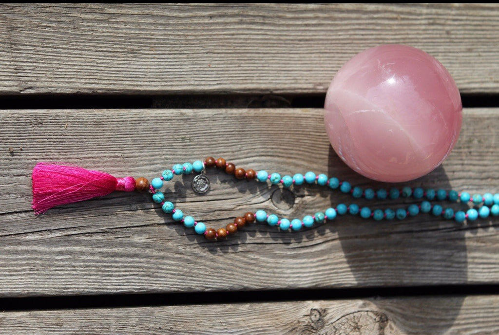 JOURNEY Mala petite in Turquonite & Wood