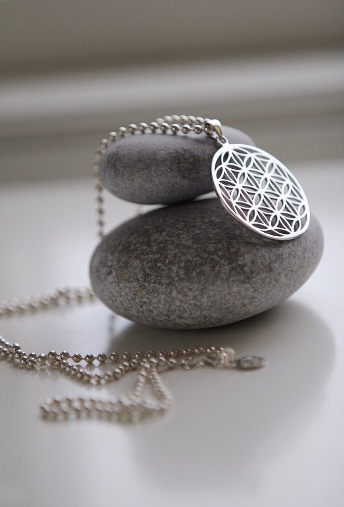 FLOWER OF LIFE silver / Seed of Life