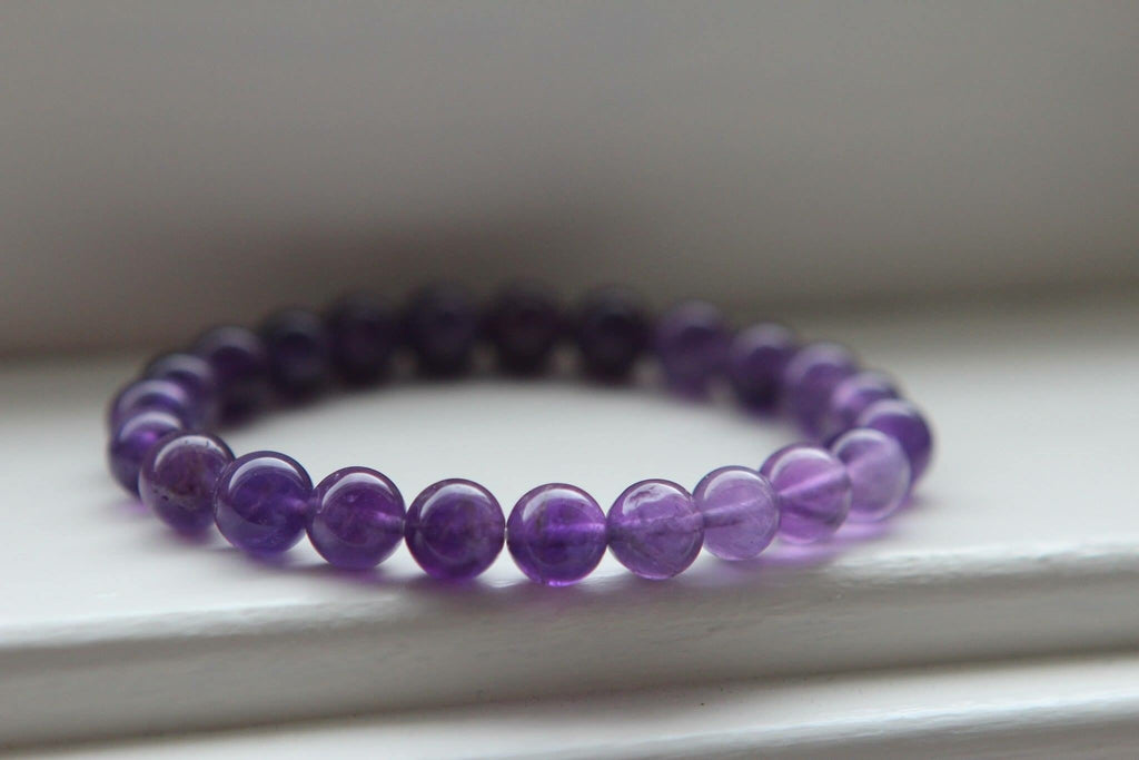 INTUITION Bracelet in Amethyst 8 mm