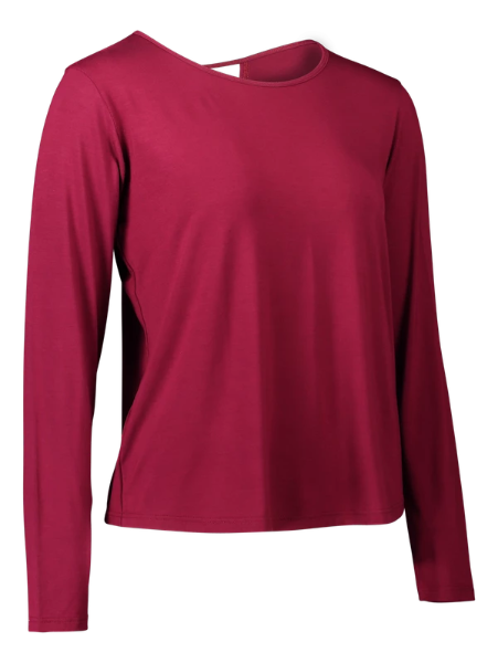 Eco Bamboo Long Sleeve Bordeaux