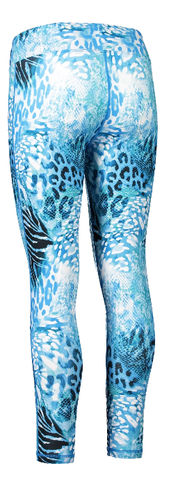 Fashion High Waist Safari Blues Yoga wear