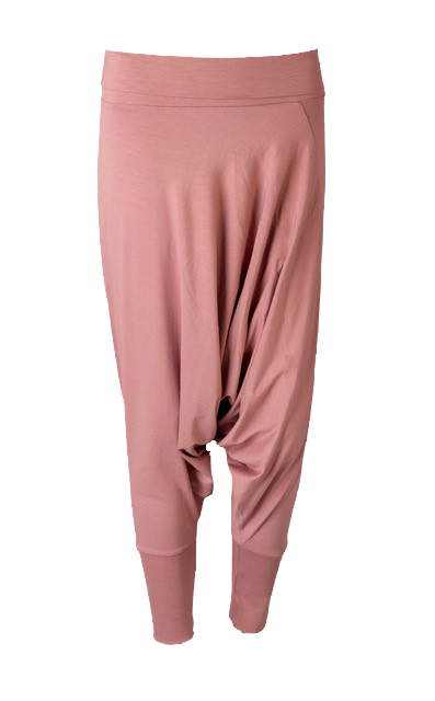 Eco Bamboo Harem Dusty Pink yoga pants