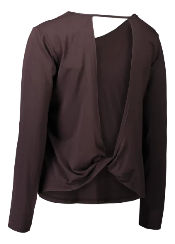Eco Bamboo Long Sleeve Bison Yoga Wear