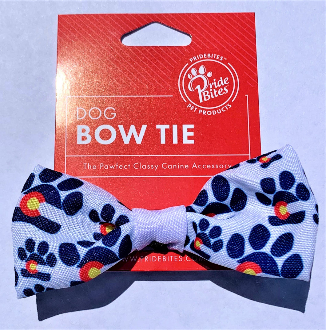 Colorado Paw Bow Tie