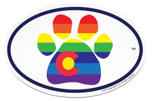 Load image into Gallery viewer, Colorado Pride Paw