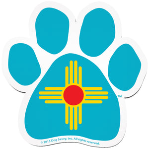 NM Paw Decal