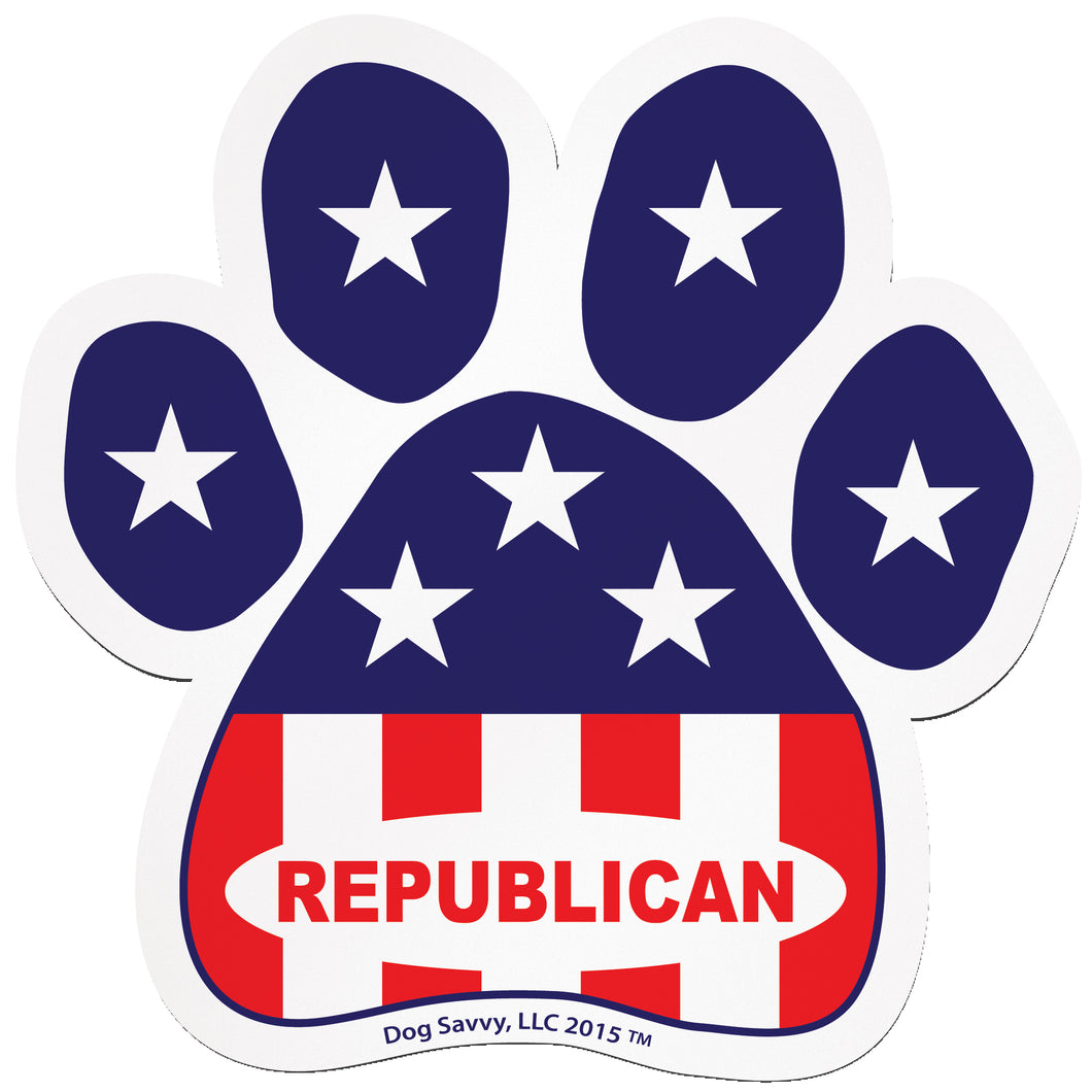 USA Paw REPUBLICAN Decal