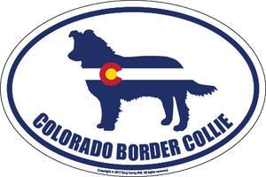 Colorado Breed Sticker Border Collie
