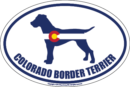 Colorado Breed Sticker Border Terrier