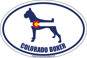 Colorado Breed Sticker Boxer