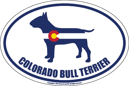 Colorado Breed Sticker Bull Terrier