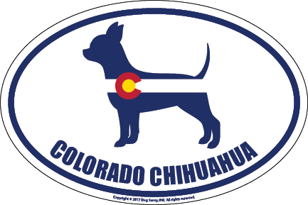 Colorado Breed Sticker Chihuahua