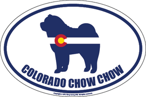 Colorado Breed Sticker Chow Chow