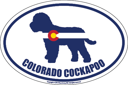 Colorado Breed Sticker Cockapoo