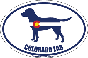 Colorado Breed Sticker Lab