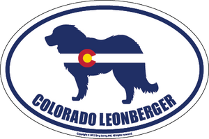 Colorado Breed Sticker Leonberger