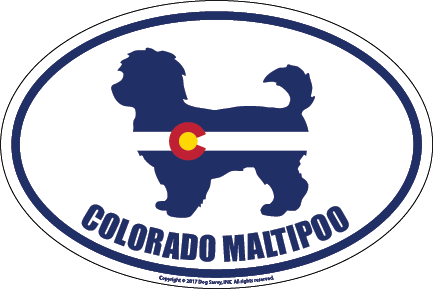 Colorado Breed Sticker Maltipoo