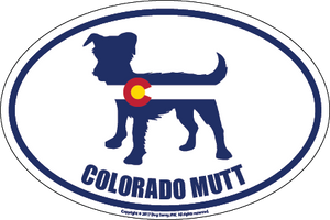 Colorado Breed Sticker Mutt