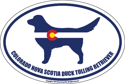 Colorado Breed Sticker Nova Scotia Duck Tolling Retriever