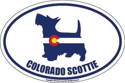 Colorado Breed Sticker Scottie