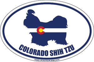 Colorado Breed Sticker Shih Tzu