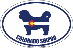 Colorado Breed Sticker Shipoo