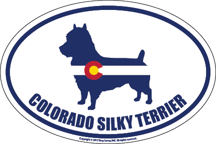 Colorado Breed Sticker Silky Terrier
