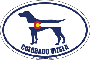 Colorado Breed Sticker Viszla