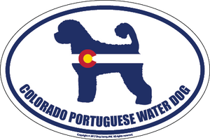 Colorado Breed Sticker Portuguese Water Dog