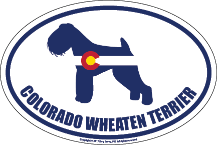 Colorado Breed Sticker Wheaten Terrier