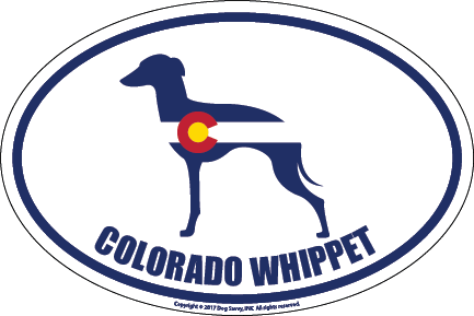 Colorado Breed Sticker Whippet