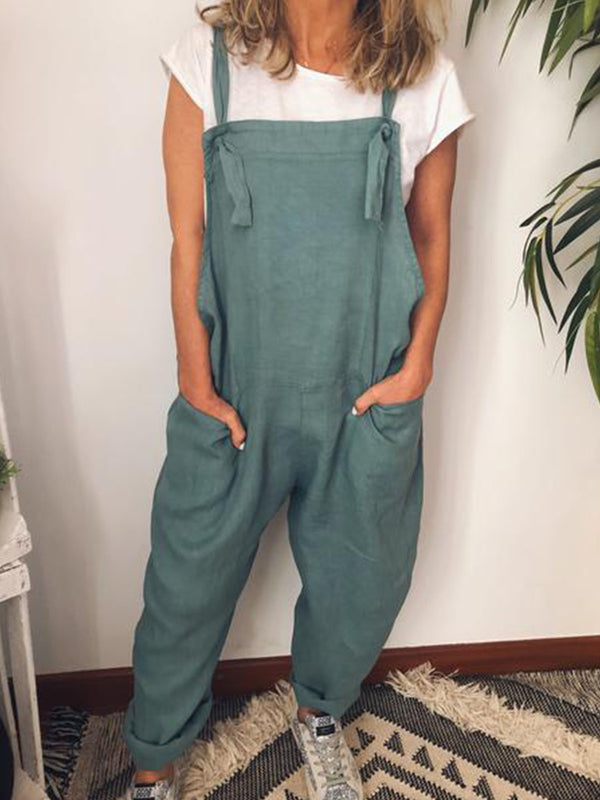 Women Casual Loose Rompers Jumpsuit Pantsuit