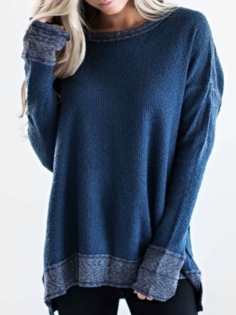 Women Casual Plus Size Tops Tunic Sweater