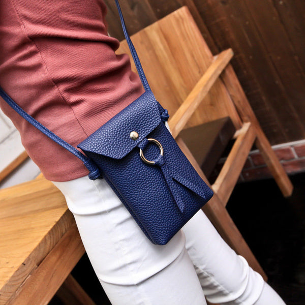 Women Stylish 5.5 Inch Phone Becket Purse Crossbody Bags