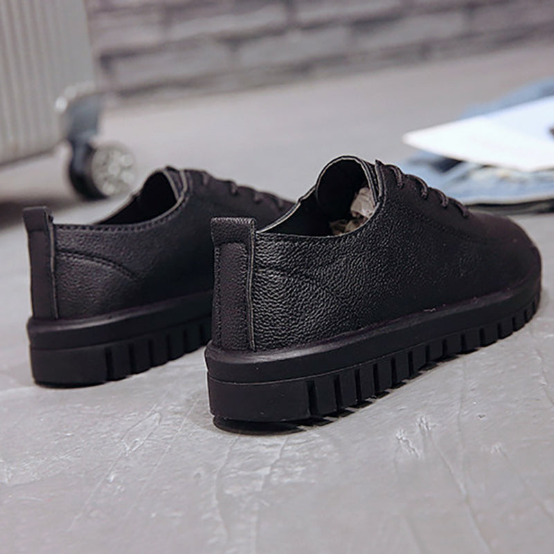 Women PU Loafers Casual Comfort Shoes