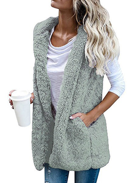 Cotton-Blend Appliqued Vest