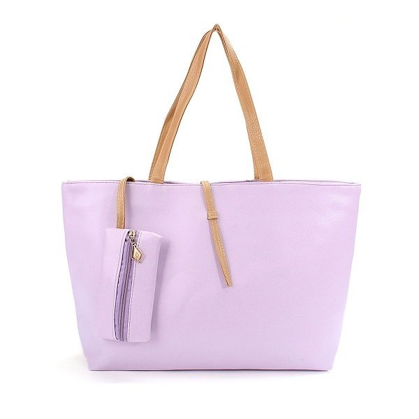 Women Elegant Handbag High Capacity Leisure Shopping Casual Shoulder Bag