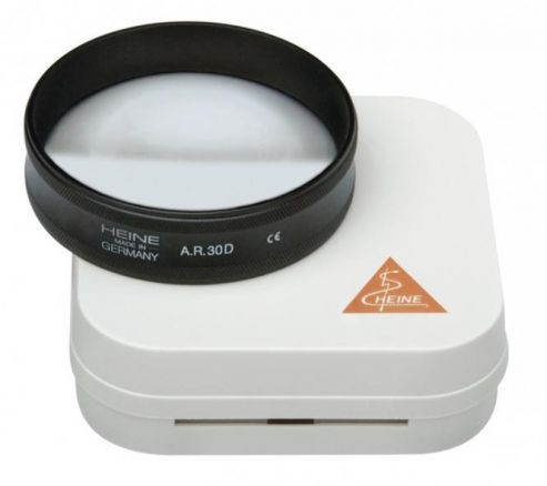 Heine 30D AR Aspheric Lens with Case, 46mm