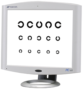 Topcon PC-50S LCD Visual Acuity System for CV-5000S